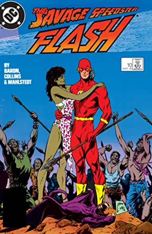 The Flash (1987-2009) No.10