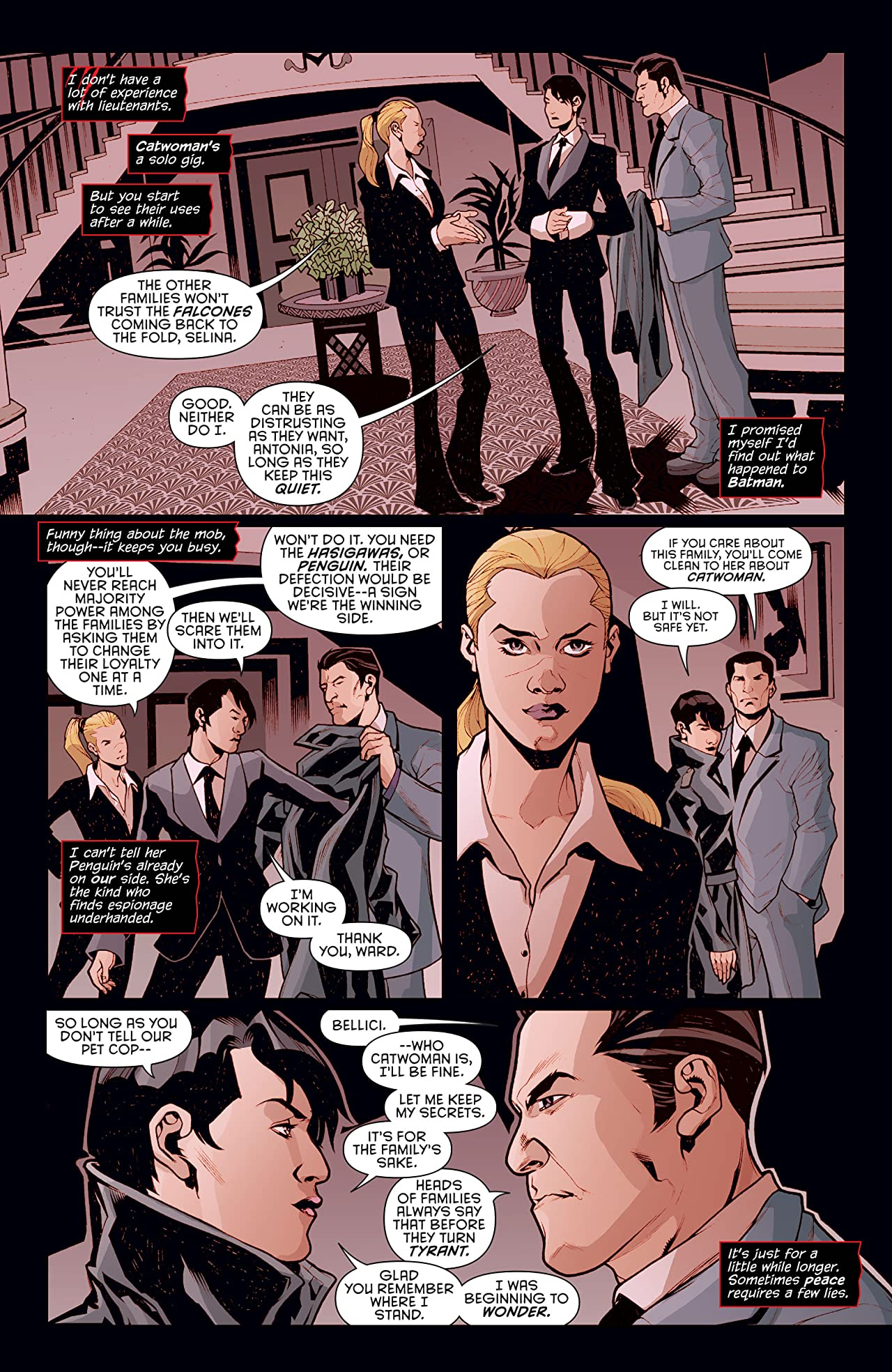 Catwoman (2011-2016) #42
