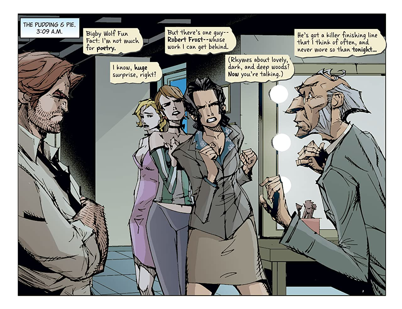 Fables: The Wolf Among Us #31