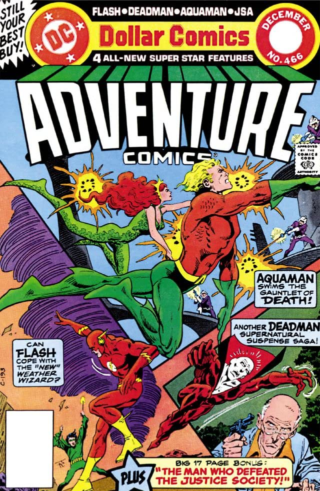 Adventure Comics (1935-1983) #466 - Comics by comiXology