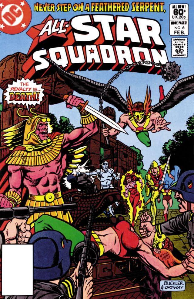 All-Star Squadron (1981-1987) #6