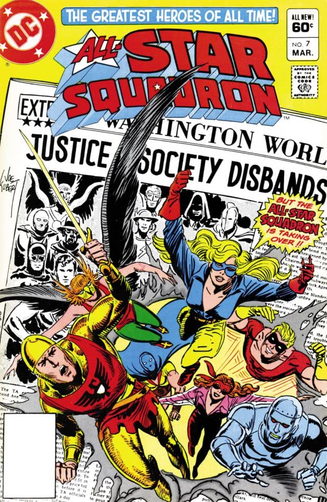 All-Star Squadron (1981-1987) #7