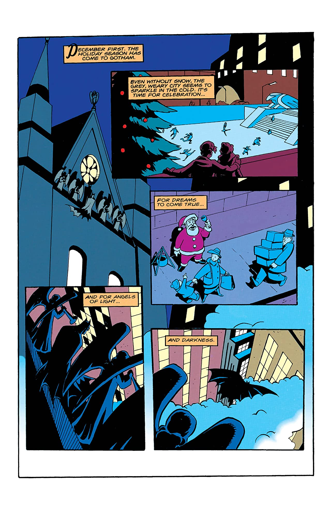 The Batman Adventures Holiday Special (1994) #1