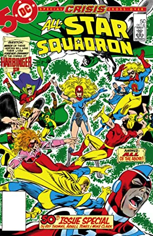 All-Star Squadron (1981-1987) No.50