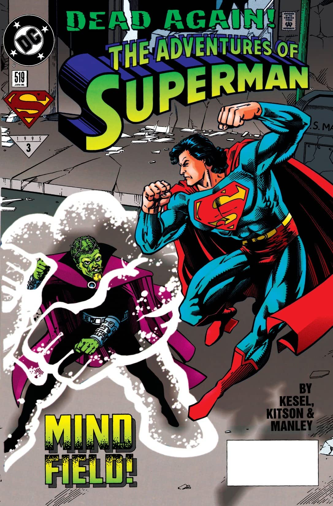 Adventures of Superman (1986-2006) #519