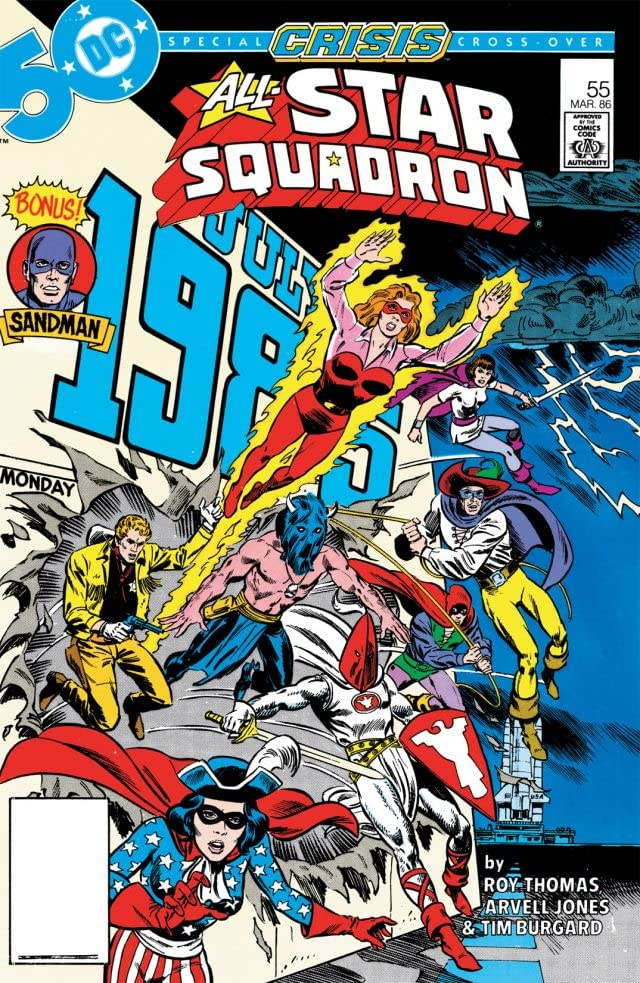 All-Star Squadron (1981-1987) #55