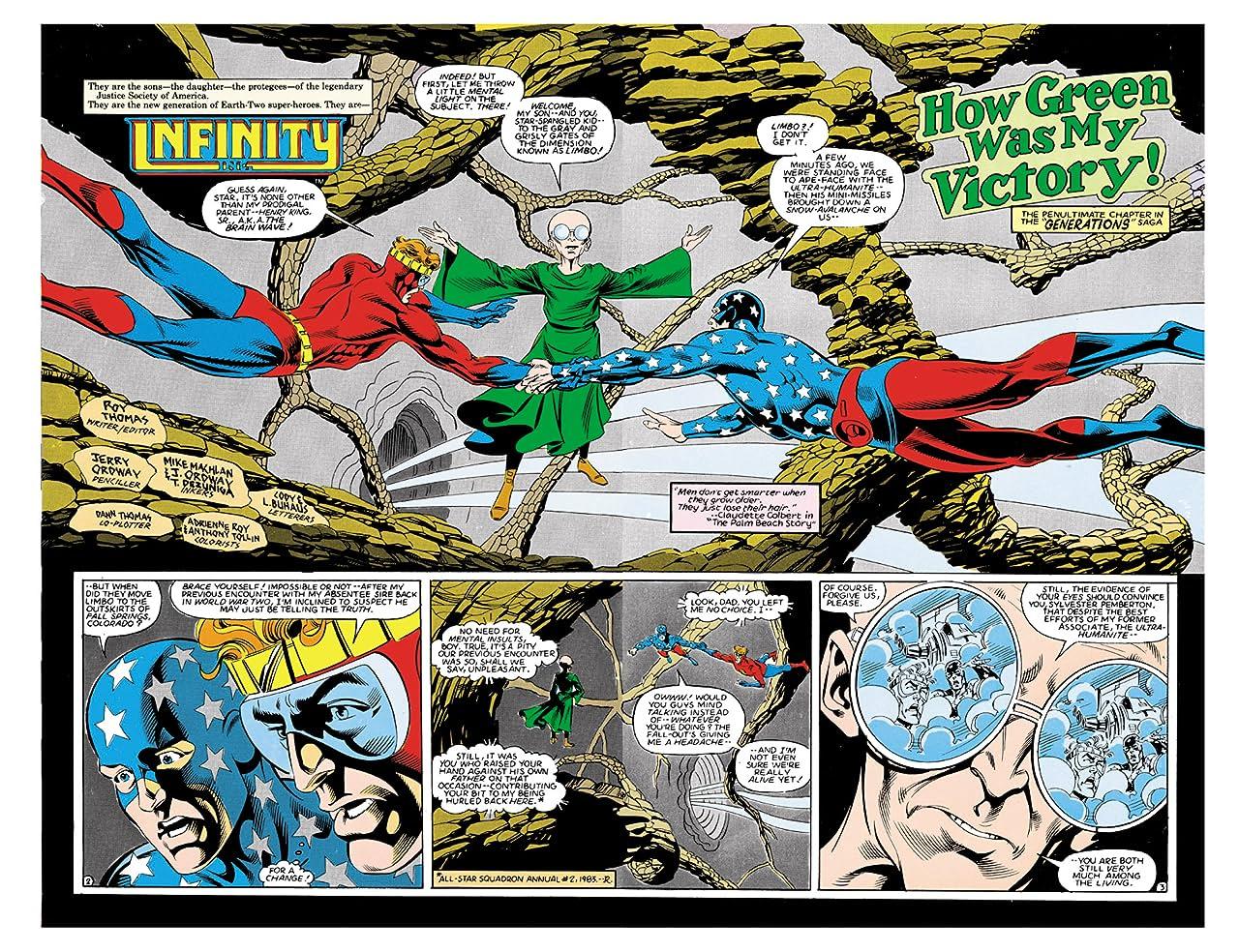 Infinity Inc. (1984-1988) #9