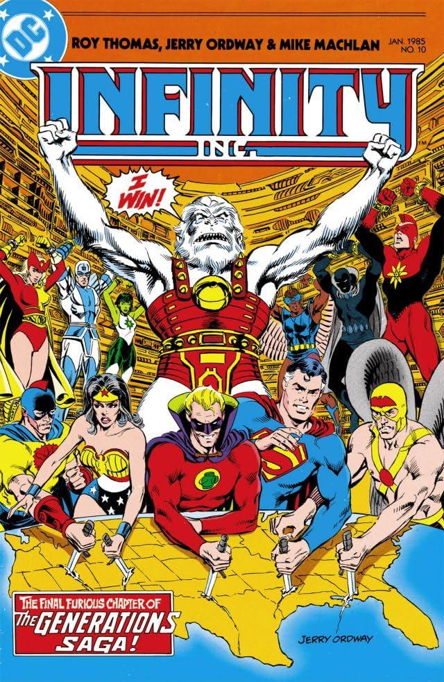 Infinity Inc. (1984-1988) #10