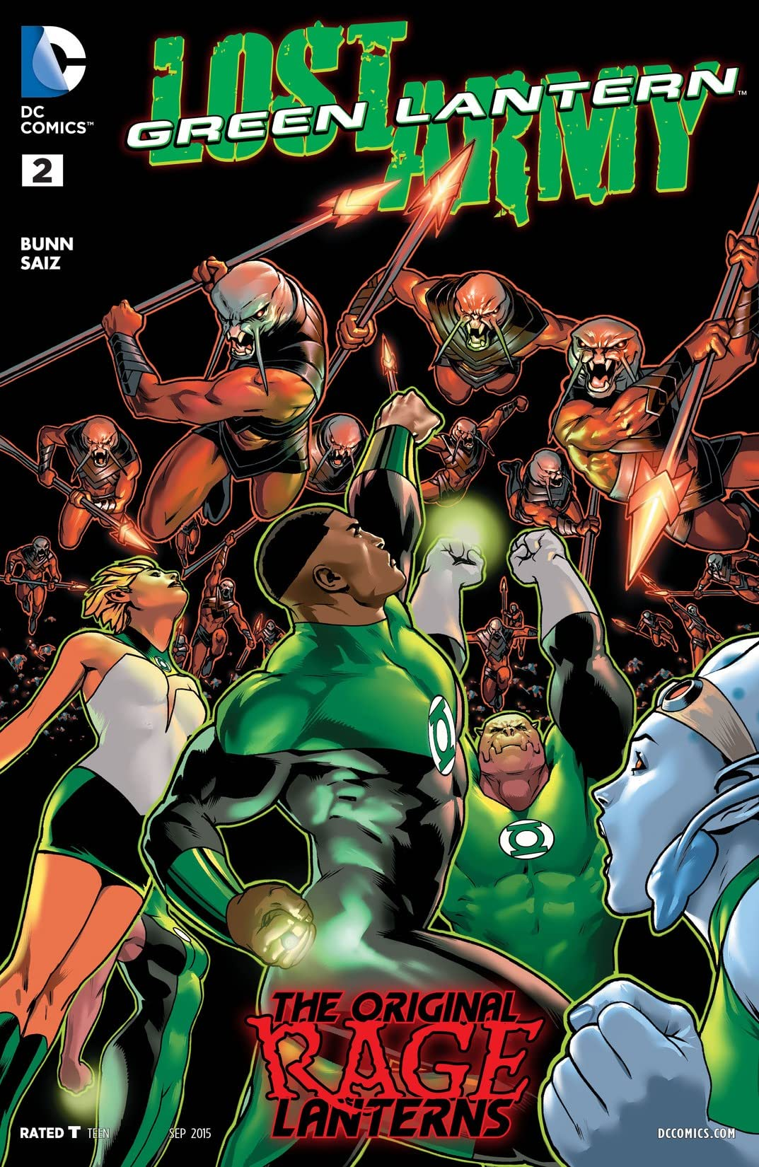 Green Lantern: Lost Army (2015) #2