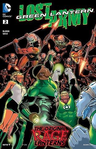 Green Lantern: Lost Army (2015) #2