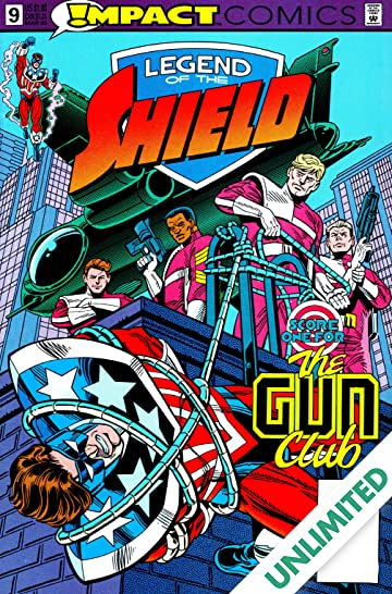 The Legend of The Shield (Impact Comics) #9
