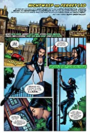 Nightwasp: The Man Who Is Hardly Ever Afraid #4