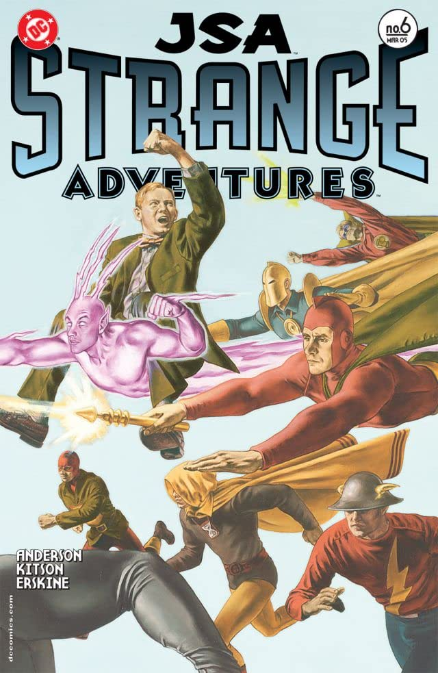 JSA: Strange Adventures #6 (of 6)