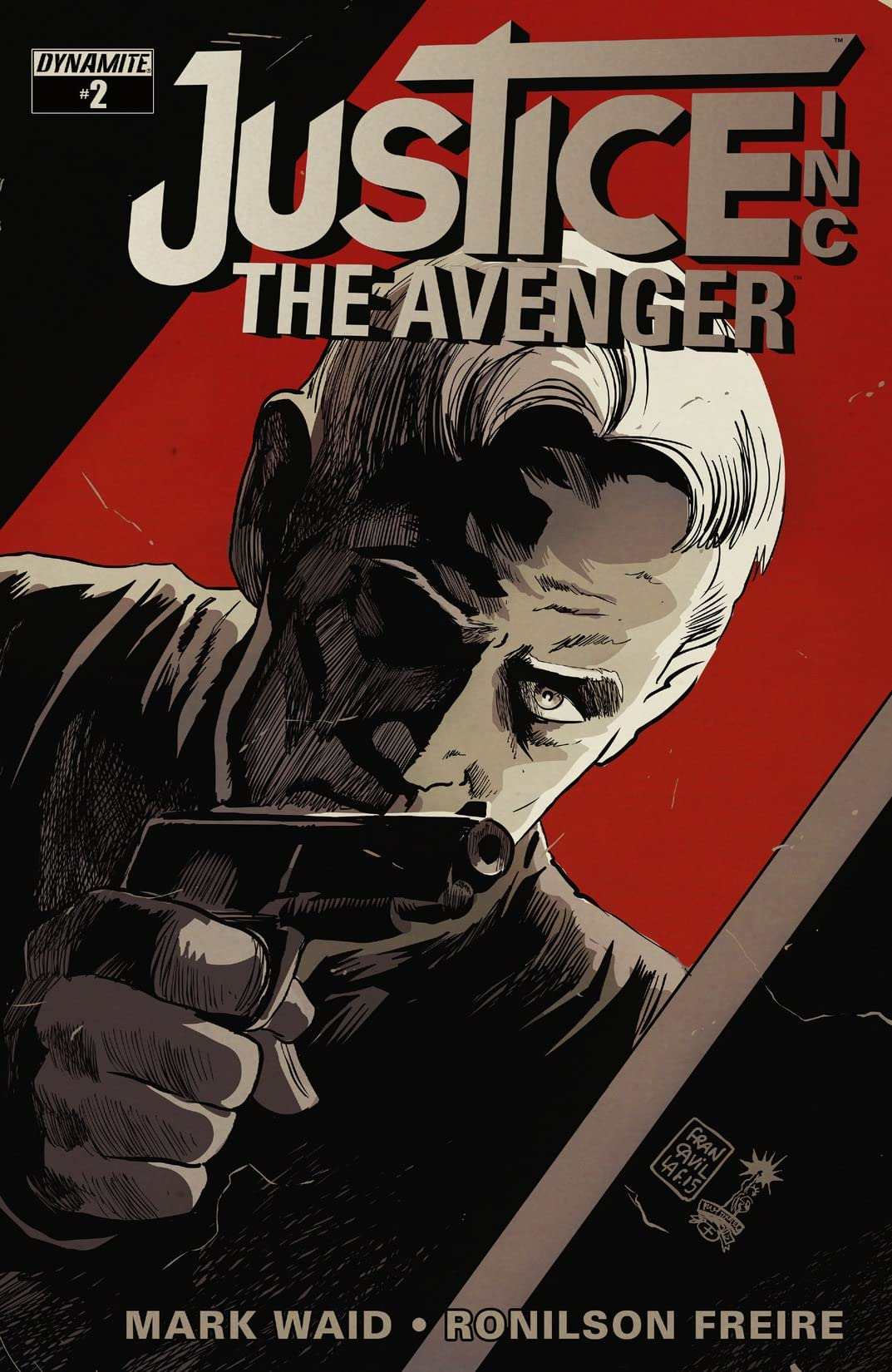 Justice, Inc.: The Avenger #2: Digital Exclusive Edition