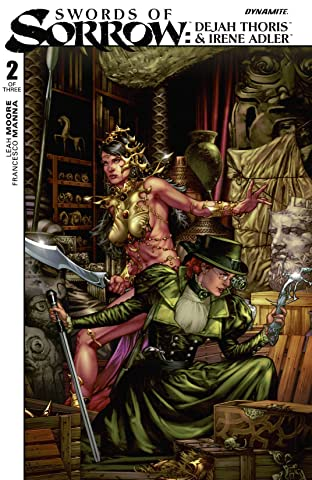 Swords of Sorrow: Dejah Thoris & Irene Adler #2 (of 3): Digital Exclusive Edition