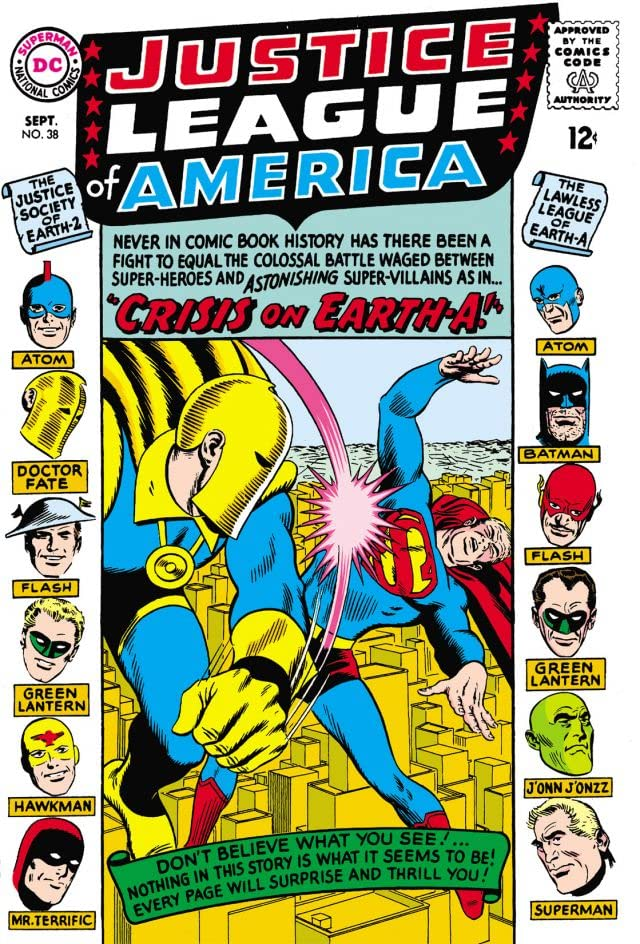 Justice League of America (1960-1987) #38