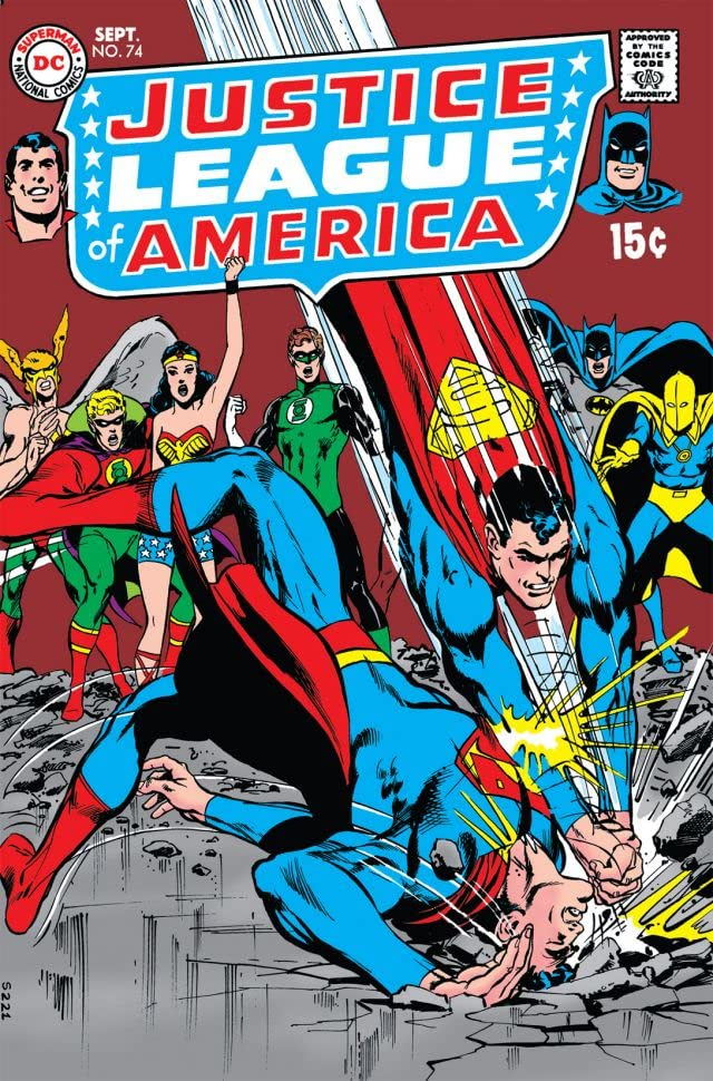 Justice League of America (1960-1987) #74