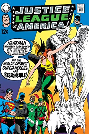 Justice League of America (1960-1987) #72