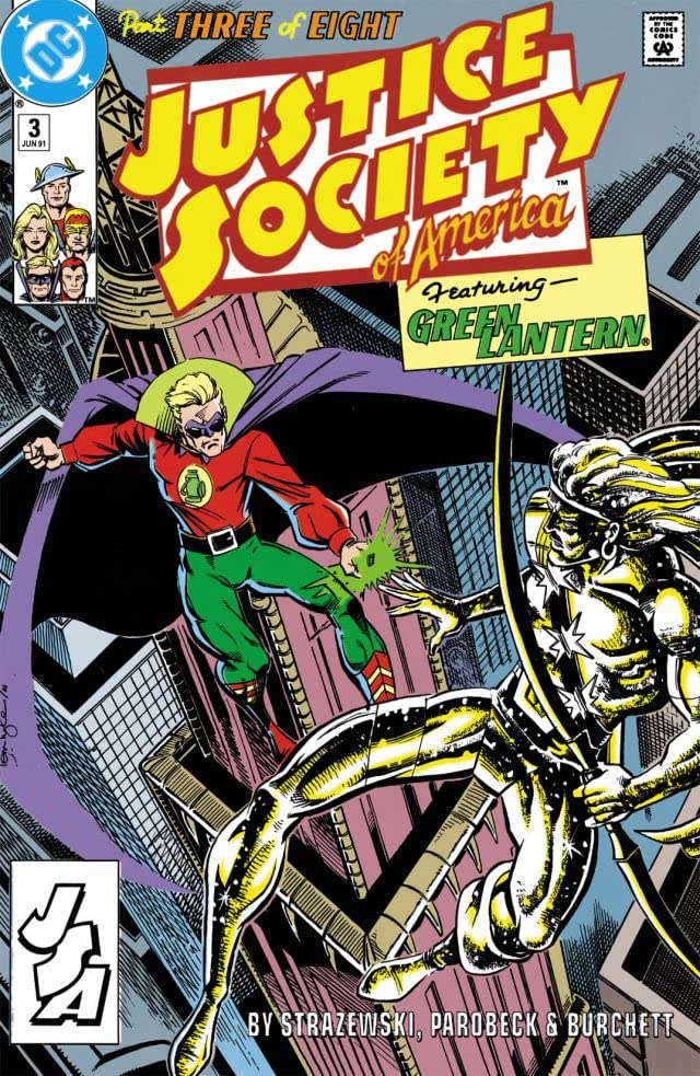 Justice Society of America (1991) No.3