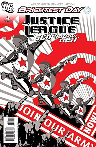 Justice League: Generation Lost #4