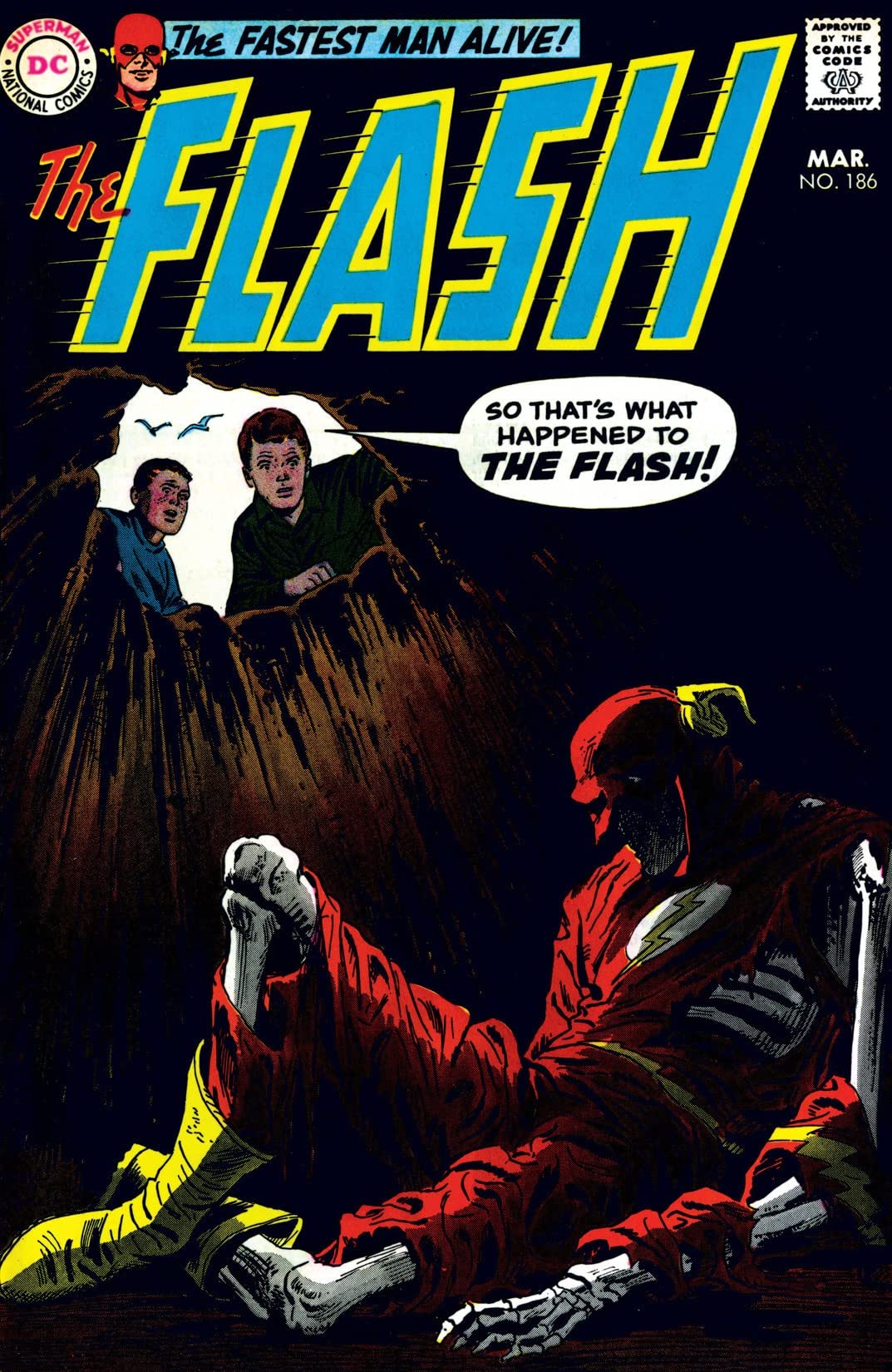 The Flash (1959-1985) #186