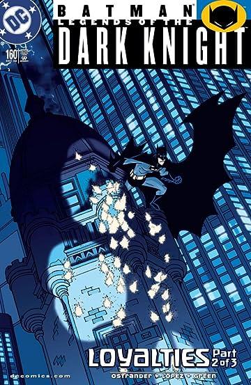 Batman: Legends of the Dark Knight #160