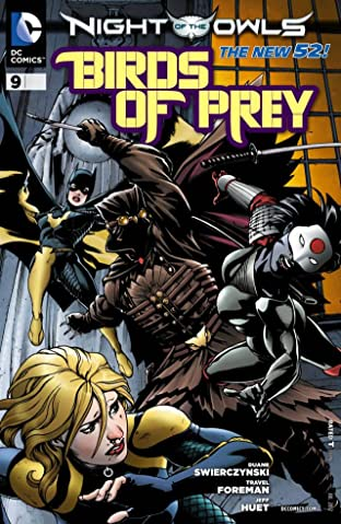 Birds of Prey (2011-2014) #9