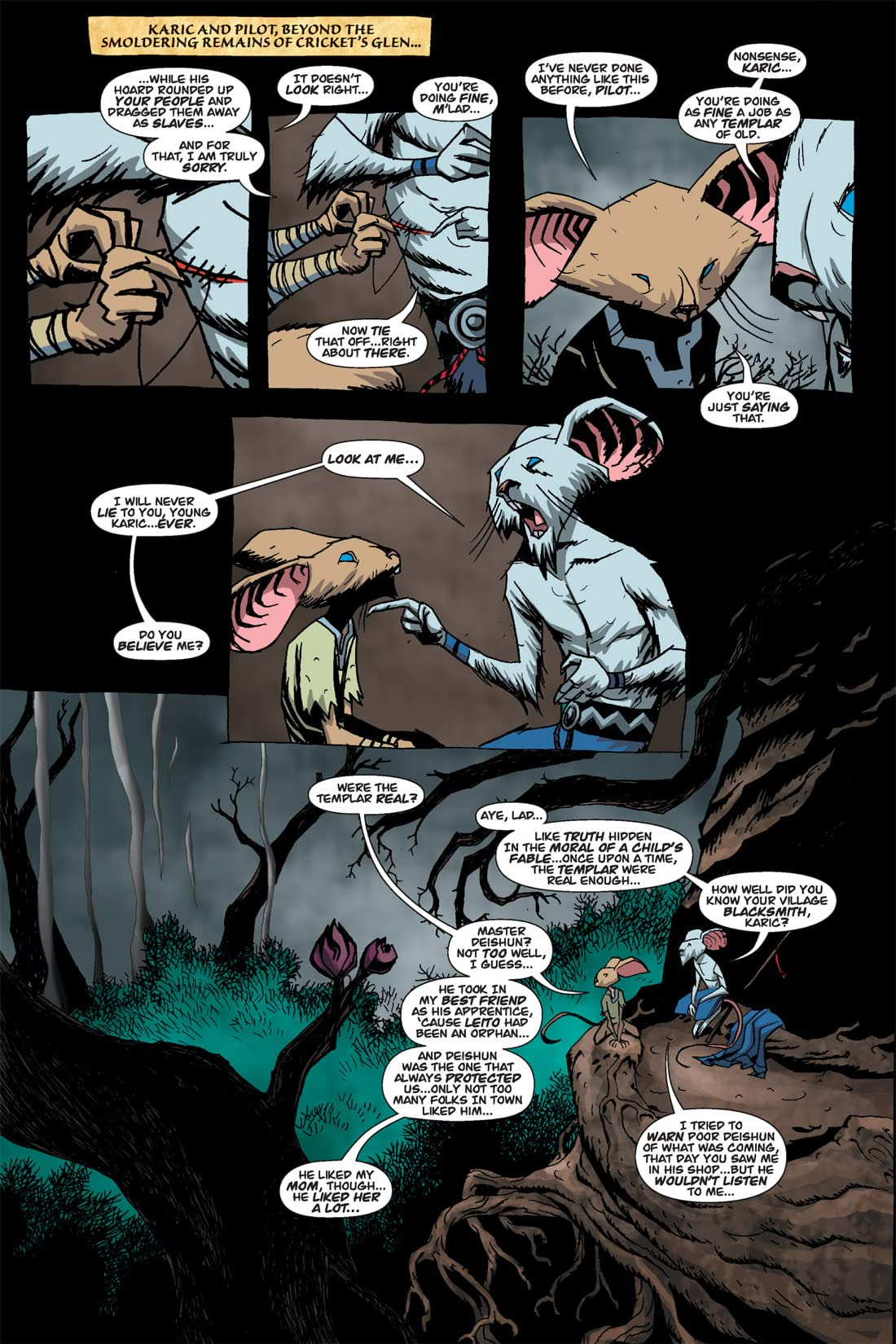 The Mice Templar #3
