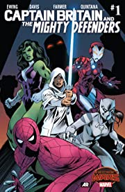 Captain Britain and the Mighty Defenders (2015) #1 (of 2)