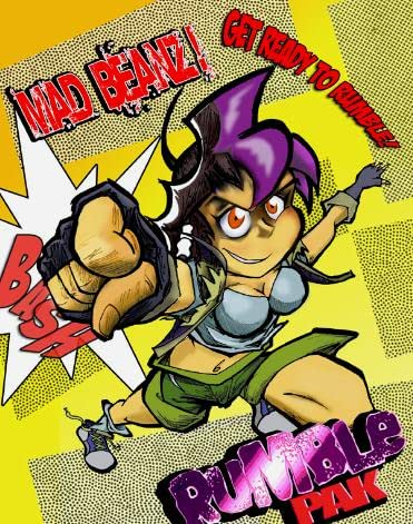 Sakura Pakk Versus Rumble Pak: Mad Beanz