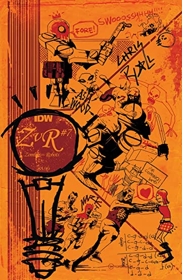 Zombies vs. Robots (2015) #7