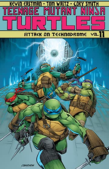 Teenage Mutant Ninja Turtles Tome 11: Attack On Technodrome
