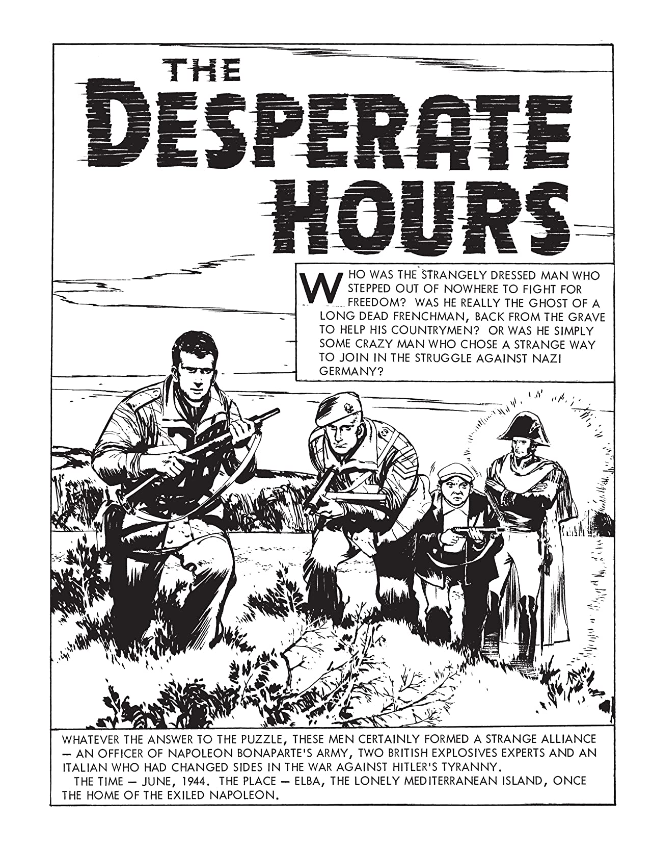 Commando #4824: The Desperate Hours