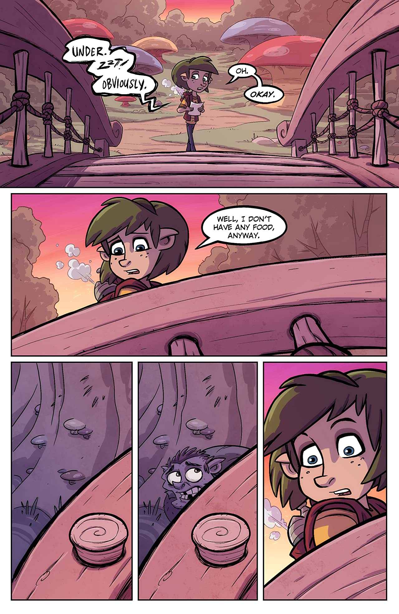 Oddly Normal #8