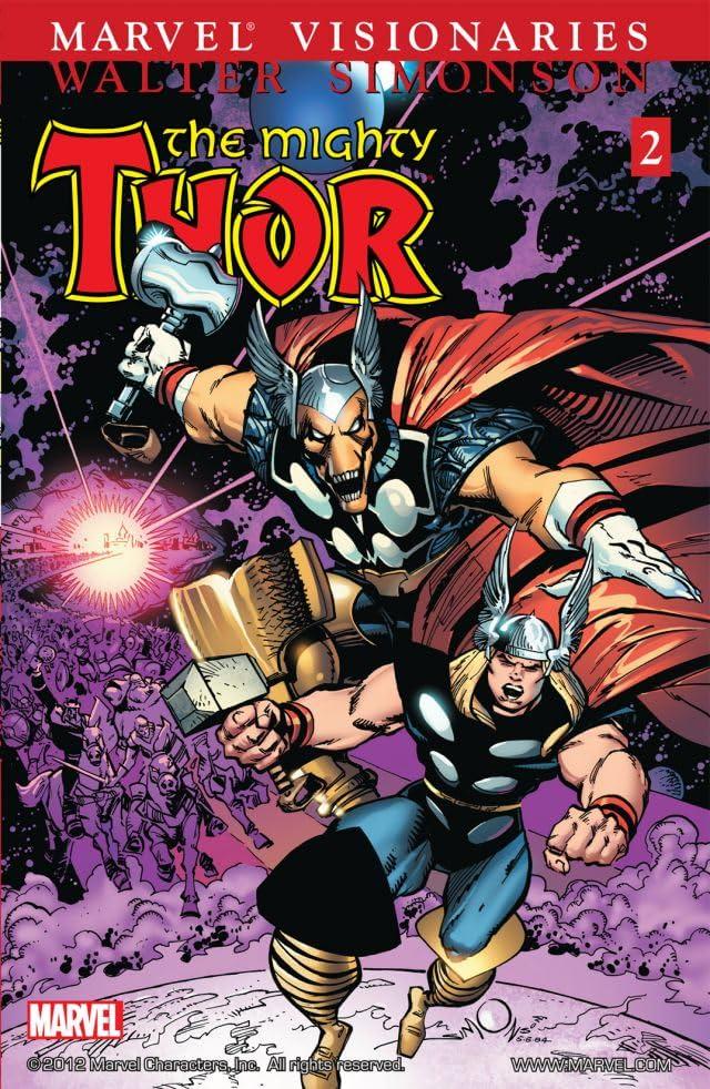 Thor Visionaries: Walter Simonson Vol. 2