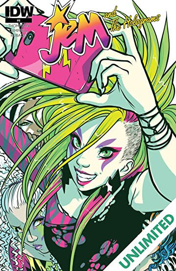 Jem and the Holograms (2015-) #4