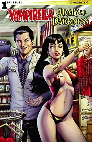 Vampirella/Army of Darkness No.1 (sur 4): Digital Exclusive Edition