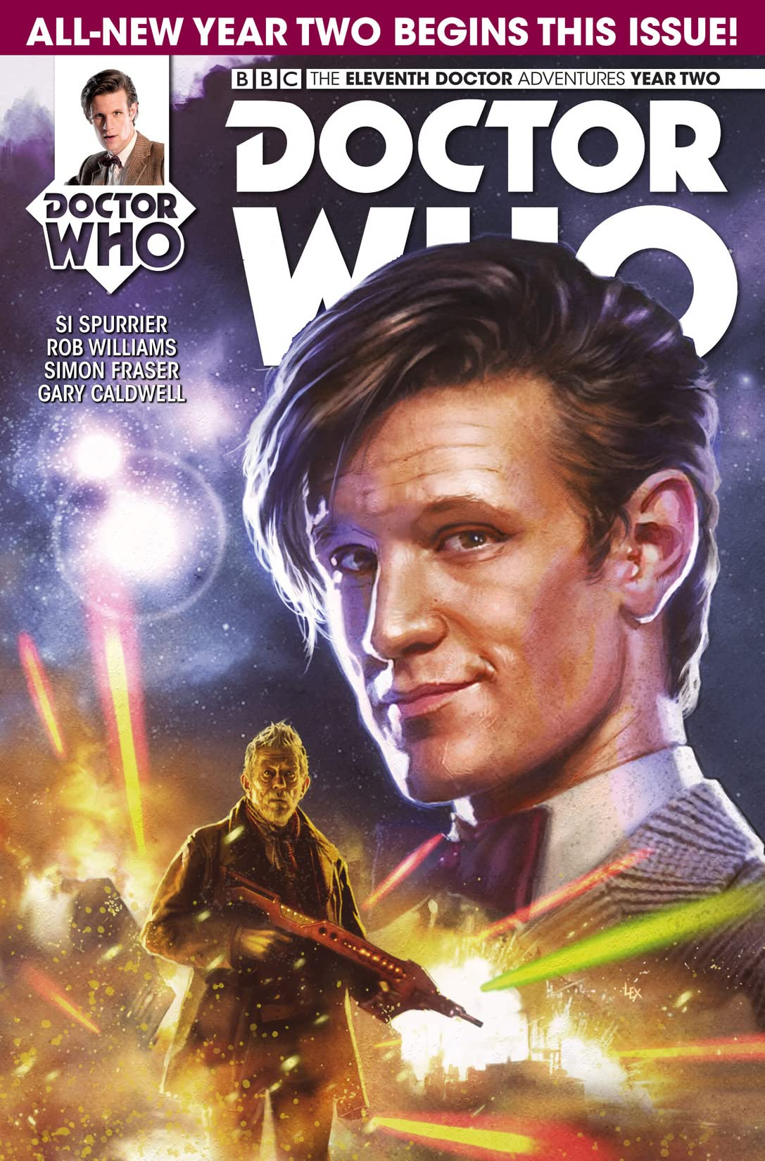 Doctor Who: The Eleventh Doctor No.2.1