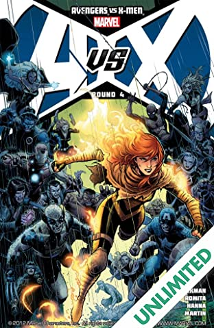 Avengers vs. X-Men #4 (of 12)