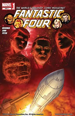 Fantastic Four (1998-2012) No.605.1