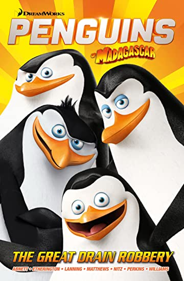 Penguins of Madagascar: The Great Drain Robbery