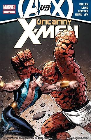 Uncanny X-Men (2011-2012) No.12