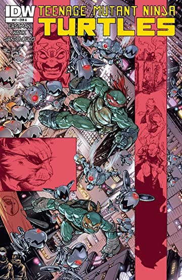 Teenage Mutant Ninja Turtles #47