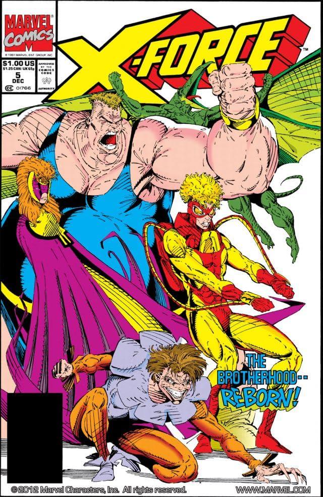 X-Force (1991-2004) #5