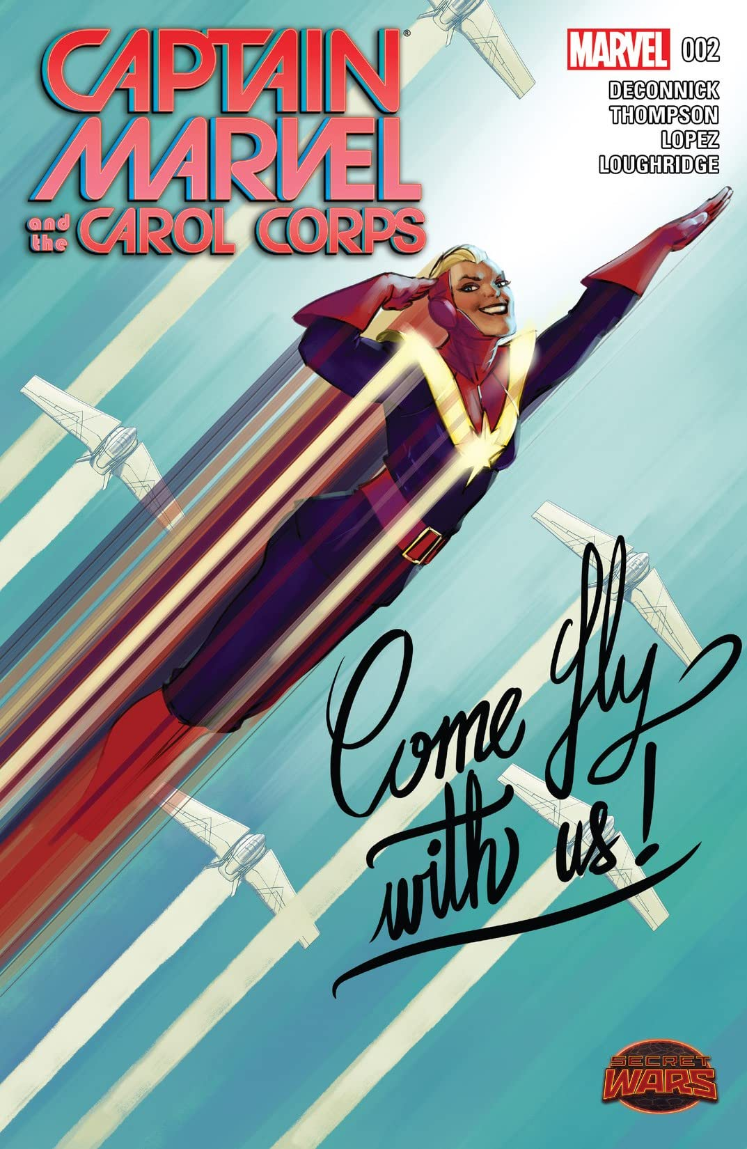 Captain Marvel and the Carol Corps (2015) #2