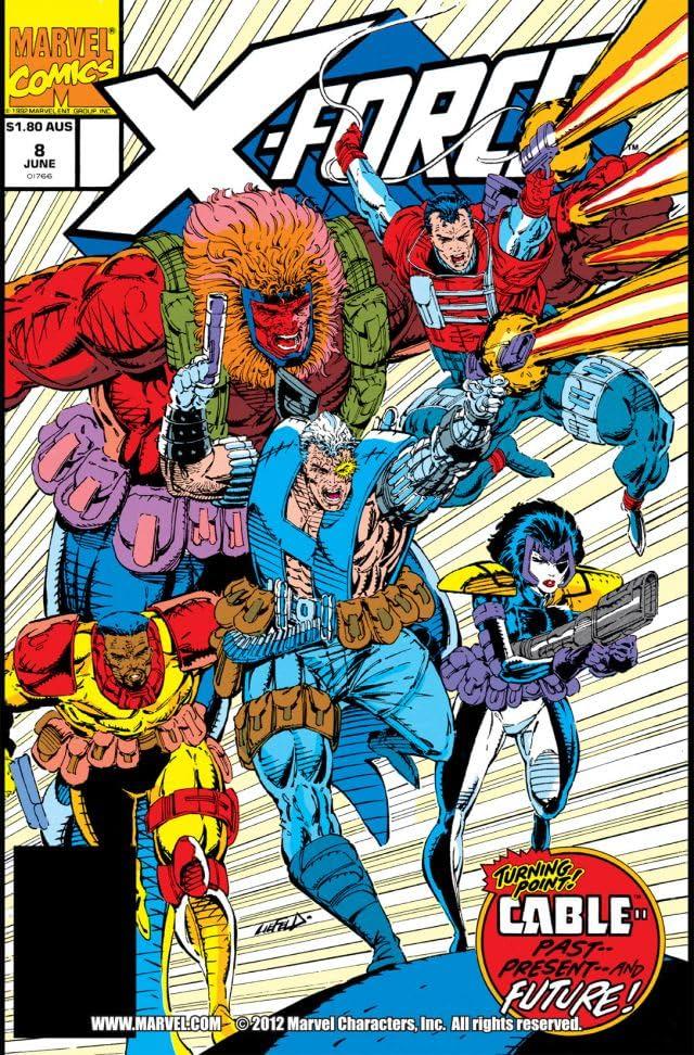 X-Force (1991-2004) #8