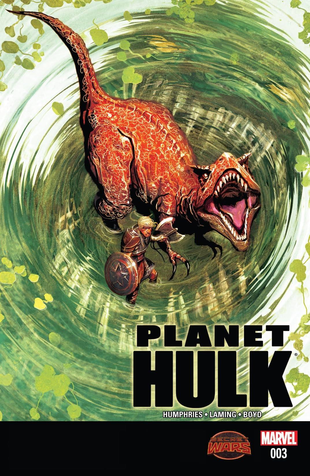 Planet Hulk (2015) #3