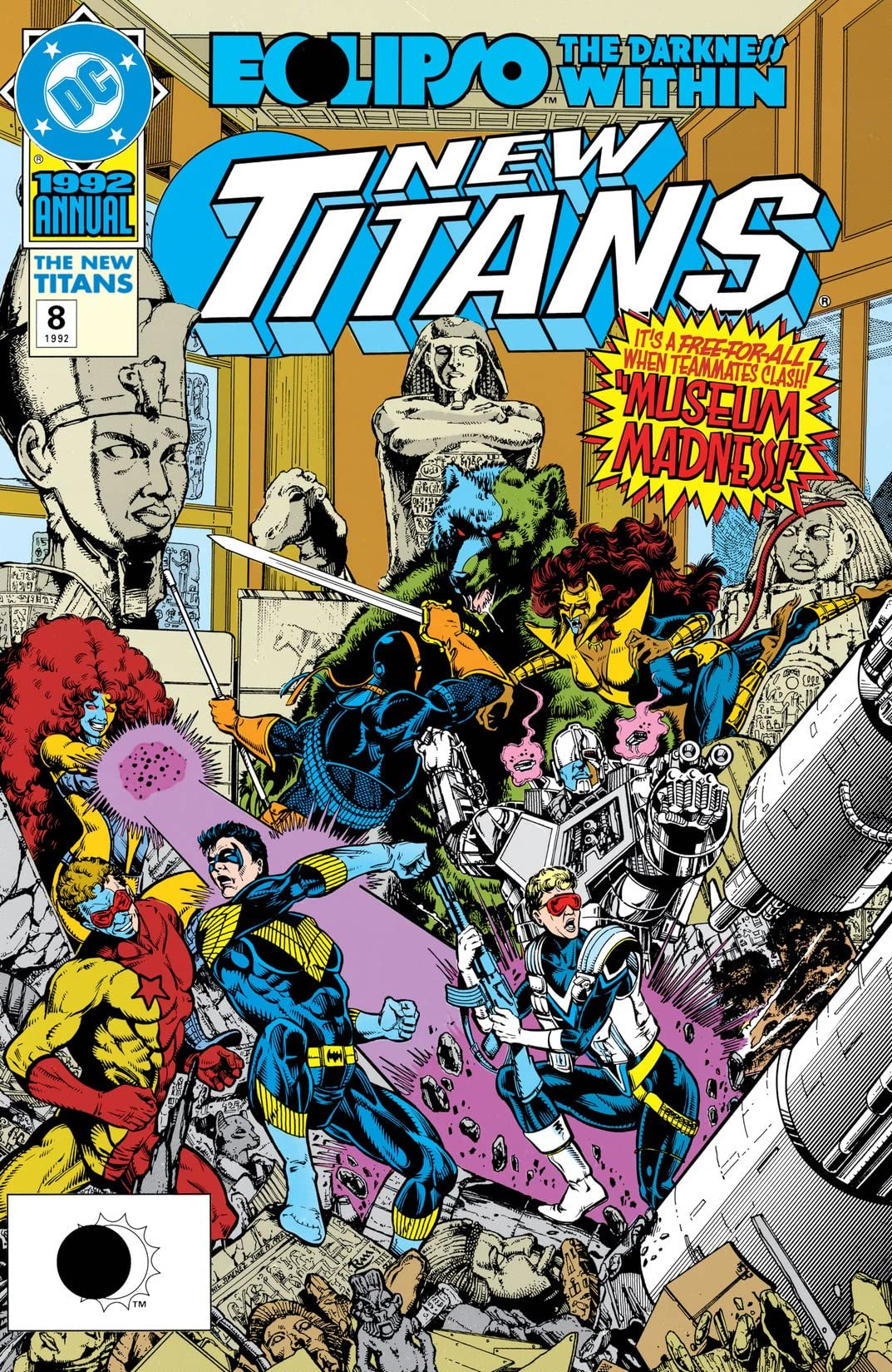 The New Titans (1984-1996): Annual #8