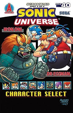Sonic Universe #40