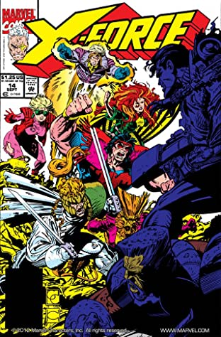 X-Force (1991-2002) No.14